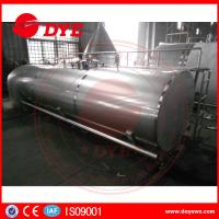 Quality Direct Enery Efficient Stainless Steel Tank Mueller Milk Tank For Dairy for sale