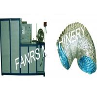 Buy Different Diameters Aluminum Flexible Duct Machine With Temperature Control System at wholesale prices
