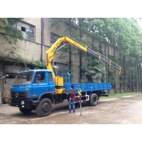 Quality 6.3t 140kw Truck Mounted Telescopic Crane SQ6.3ZK3Q for sale