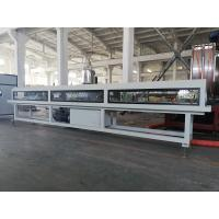 Buy cheap Low Noise Plastic Pipe Extrusion Machine , Twin Screw PVC Pipe Production Line from wholesalers