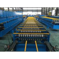 Quality 25 Stations Roof Panel Roll Forming Machine Coil Width 1000mm High Productive for sale