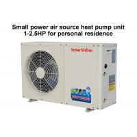 Quality 220 V Residential Heat Pump System , Split System Heat Pump Easy Maintenance for sale