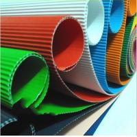 Quality colorful corrugated paper / fluting paper for sale