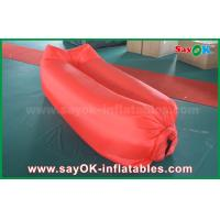 Buy cheap Inflatable Beach Sleeping Air Bag Camping Lying Bag Easy Opening Nylon Material from wholesalers