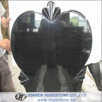 Quality Big Heart Shaped Granite Tombstone, Love Expression Granite Monuments for sale