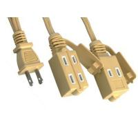 Quality UL Flat Extension Cord Nema 1 - 15R Extension Cord Plug for sale