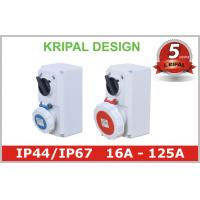 China IP67 Weatherproof Industrial Interlocked Switch Socket Outlet for Plug on sale