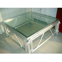 Buy cheap Transparent Plexiglass Stage,auditorium glass stage for Wedding and Swimming from wholesalers