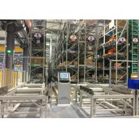 Quality Fully Automated Manufacturing Automation Solutions / Storage System With Carrier & Shuttle for sale