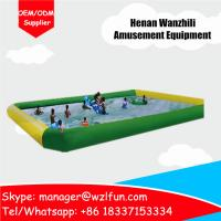 Quality Top Quality Inflatables Manufacturer Square Family Inflatable Water Pool For Kids for sale