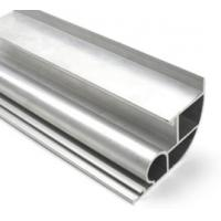Quality Silvery Anodized  6061 Aluminum Profile Aluminum Extrusion Profile With Drilling / Cutting for sale
