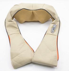 Buy Beige / Brown / Orange Neck Shoulder Massage , Shiatsu PU Effective kneading at wholesale prices