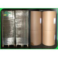China 375gsm Good Stiffness No Deformation Brown Kraft Paper For Packing Box on sale