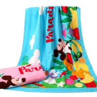 Quality Ultra Soft Reactive Printed Beach Towels Mickey Mouse For Daily Advertising for sale