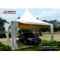 Quality UV Resistan 10 By 20 Party Tent With Sidewalls Hot DIP Galvanized Connection for sale