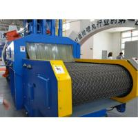 Quality Blue Roller Conveyor Shot Blasting Machine , Automatic Blasting Machine ISO Certificated for sale