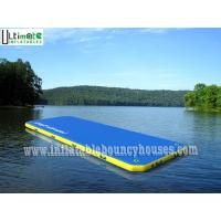 Buy cheap 6 X 2 Meters Inflatable Floating Water Walkway Water Slide Toy For Adults / Kids from wholesalers