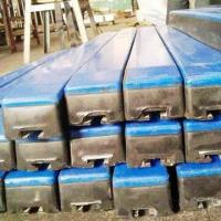 Conveyor impact bar, easy to install and remove