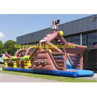 Buy cheap adult inflatable obstacle course ,  boot camp inflatable obstacle course , amusement park from wholesalers