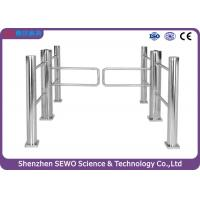 Quality China Manufacturer Stainless Steel  Automatic Supermarkt Swing Turnstile Gate for sale