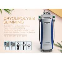 China -15 — 5 Centigrade 5 Heads Cryolipolysis Body Slimming Machine For Lose Weight / Cellulite Reduction on sale