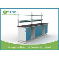 Quality Durable Metal Physics Laboratory Furniture Work Benches For University / School for sale