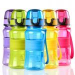 Quality 300mL/10oz BPA free Children Water Bottle Child Water Bottle Kid Bottle with Rubber Grip for sale