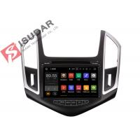 Quality Quad Core Double Din Bluetooth Car Stereo , Chevrolet Cruze GPS NavigationSplit Screem for sale