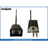 Quality 5W Analog UAV Video Link 100km LOS FM Wireless Transmitter with BNC Output for sale