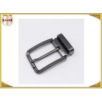 Quality Customized Reversible Metal Belt Buckle With Drum / Garment Accessory for sale