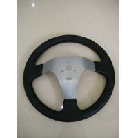 Quality Steel and Plastic Go Kart Steering System Parts / karting steering wheel angle for sale