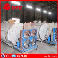 Quality Customized Stainless Steel Milk Tank Dairy Chilly Equipment 3 Years Warranty for sale