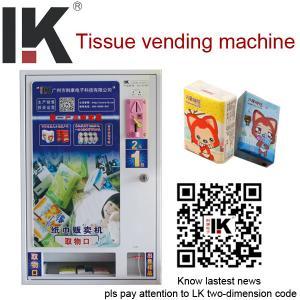 Quality LK-A1401 Small tissue vending machine,vending machine for sale for sale