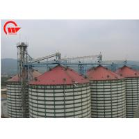 Quality Fully Enclosed Automated Conveyor Systems , Grain Belt Conveyor For Storage Silo for sale