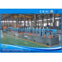 Quality Custom Size Pipe Making Machine , Stainless Steel Tube Mill For L Shape Pipe for sale