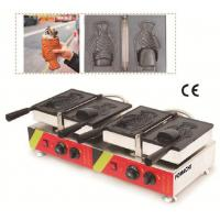 Quality Korea Ice Cream Taiyaki Machine Electric Type Stainless Steel Body CE approval Taiyaki Machine FMX-DM24 for sale