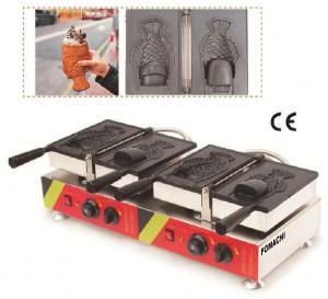 Buy Korea Ice Cream Taiyaki Machine Electric Type Stainless Steel Body CE approval Taiyaki Machine FMX-DM24 at wholesale prices