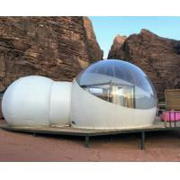 Buy Desert 2 Tunnel Outdoor Inflatable Hotel Bubble Tent at wholesale prices