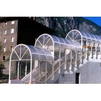 Buy cheap Sunproof Lexan Twin Wall Polycarbonate Sheet , Clear Polycarbonate Panels 4mm from wholesalers