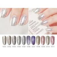 Quality Long Lasting No Odor ECO-Friendly Healthy Glitter Platinum Gel Polish For Nail Beauty for sale