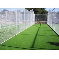 Quality 10mm UV Resistant Artificial Cricket Surface PE 6600 Density 300 Stitches / M for sale