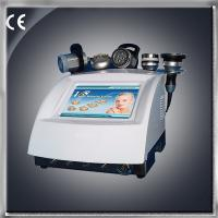 Quality Strong sound wave 40Khz vacuum + RF + BIO + ultrasonic slimming machine for sale