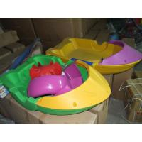 Quality Exciting Outdoor Inflatable Water Games Paddle Boat Kids Hand Boat for sale