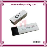 Quality Sunglass paper boxes/Logo printed paper drawer box/White cardboard paper box ME-SG011 for sale