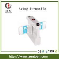 Quality entry control applications RFID card reader security turnstile swing gate for sale