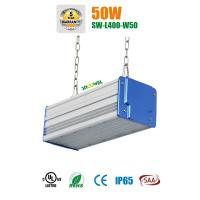 Quality Warm White 8000lm 50w Led Linear Highbay 160lm / W Long Life 100000 Hours for sale