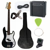 Buy 43 inch Electric Bass Guitar Kit Four String with JB Classic Bridge AGB43-HB2 at wholesale prices