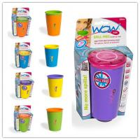Quality Portable Safe As Seen On TV Colorful No Spills Wow Cup For Children for sale