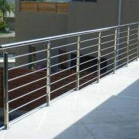 Quality Modern Balcony / Staircase Stainless Steel Rod Railing Design for sale