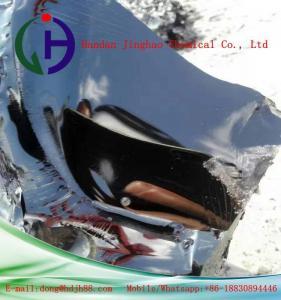Quality Black Asphalt Hot Mix Bitumen Nubby Shaped For Higher Waterproof Materials for sale
